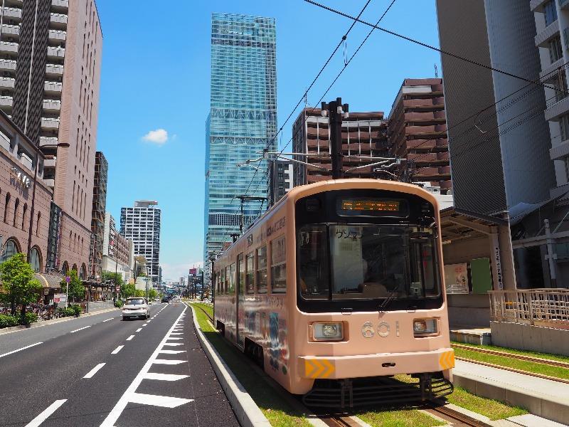 阪堺電軌 阿倍野駅 モ601