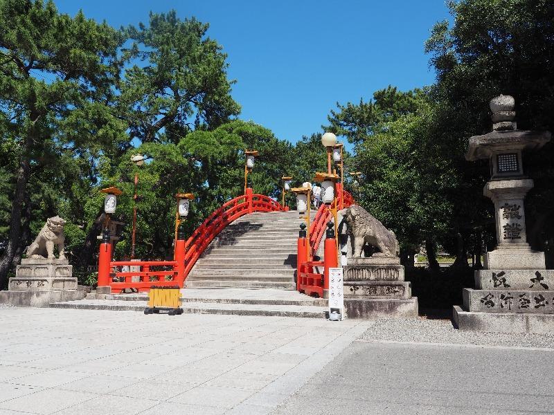 住吉大社 反橋(2)