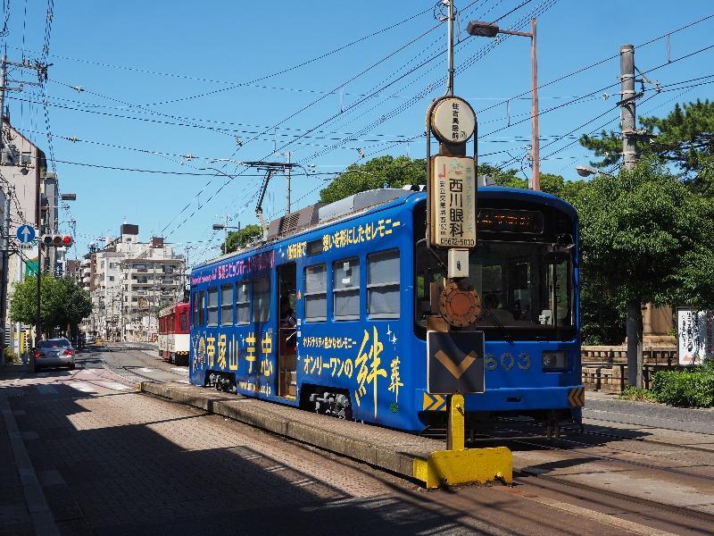 阪堺電軌 住吉鳥居前駅 モ603