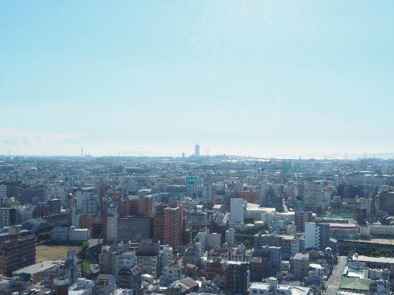 通天閣 展望台(5F)南西 新今宮・関空方面