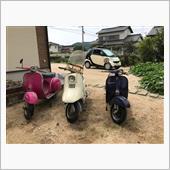 """""""ピアジオ ベスパ 100""""の愛車アルバム"""