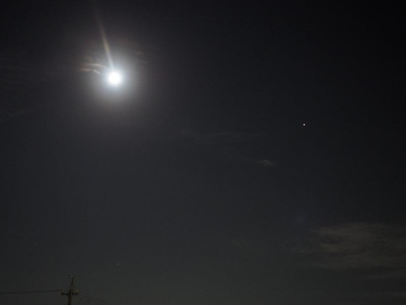 月と火星(2)フォーマルハウト