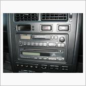 トヨタ(純正) カセットデッキ&CDプレーヤー