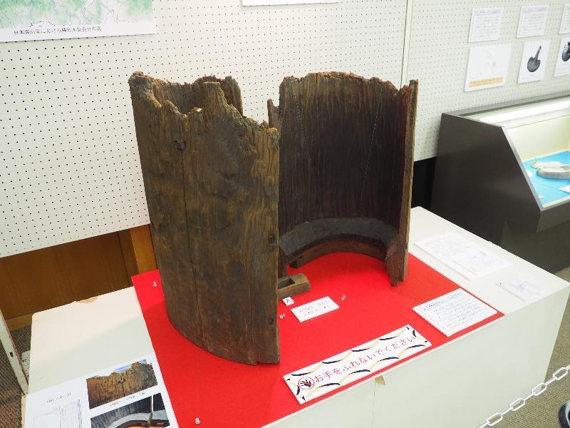 向日市文化資料館 展覧会「発掘された京都の歴史2018 いにしえの技とデザイン」木製桶形容器