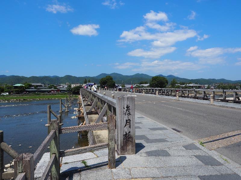 嵐山 渡月橋(2)