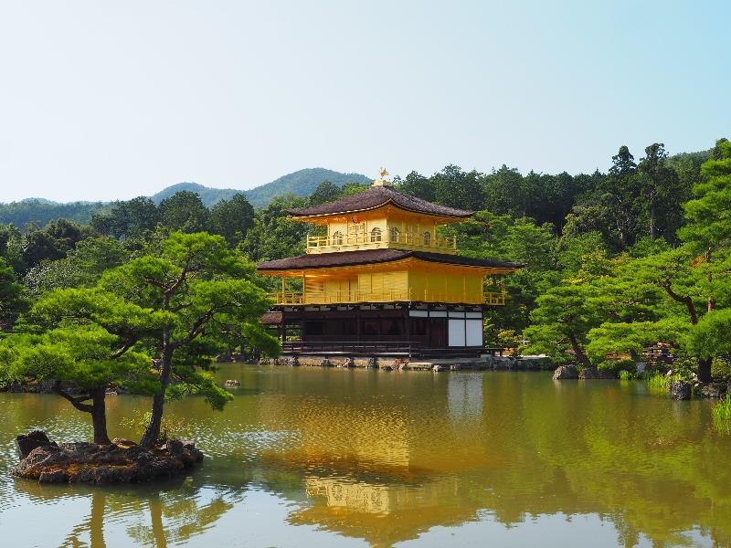 金閣 鹿苑寺 舎利殿(1)