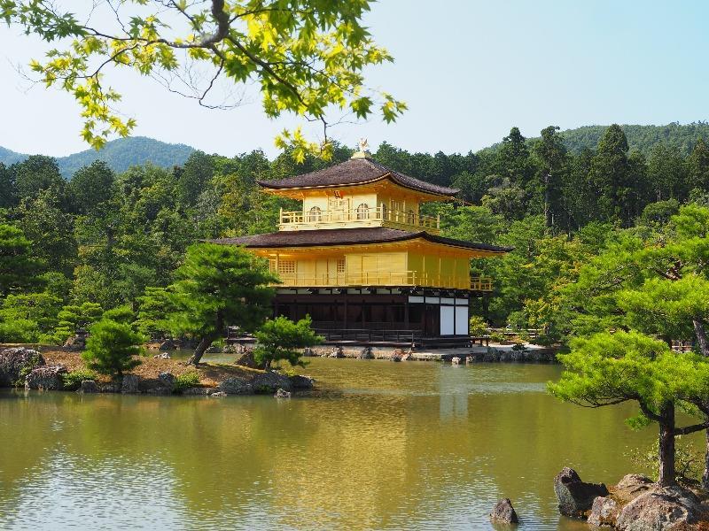 金閣 鹿苑寺 舎利殿(2)