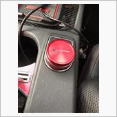 BeinuliColor Car Center Console Red Knob