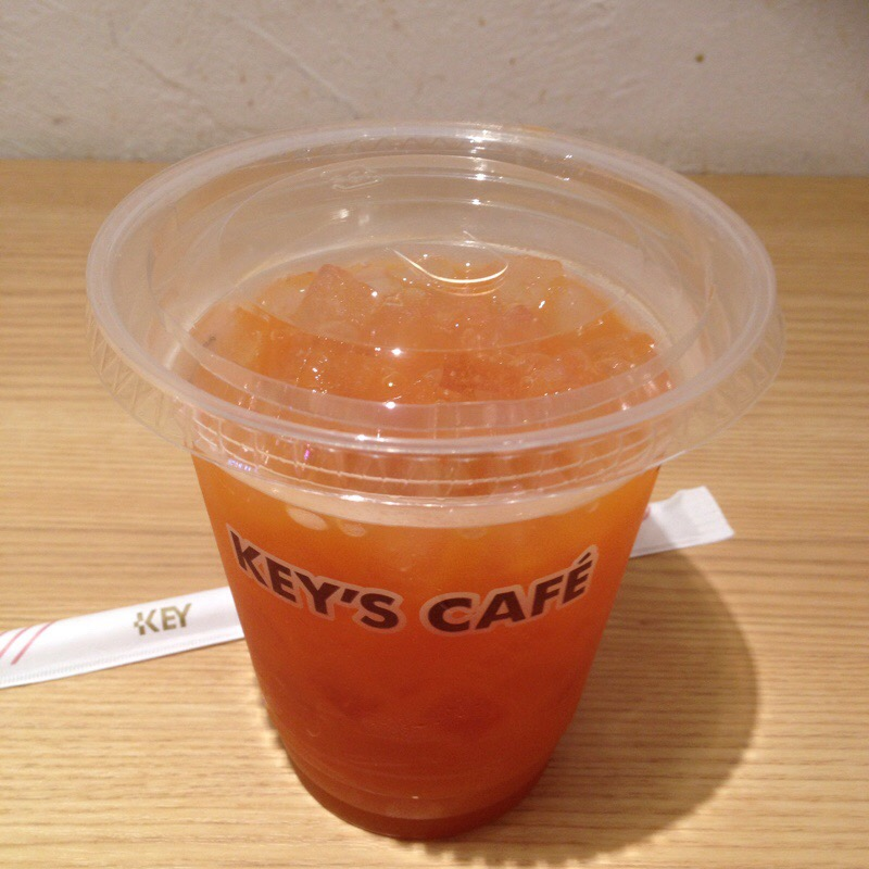 キーズカフェ ビックカメラ有楽町店 野菜果実ジュース