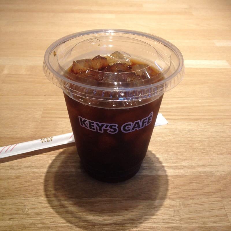 KEY'S CAFE(キーズカフェ)ビックカメラ名古屋JRゲートタワー店 アイスコーヒー