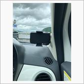 CASEBANK Qi ワイヤレス充電付き車載スタンド WC-QIC-BLK058の画像