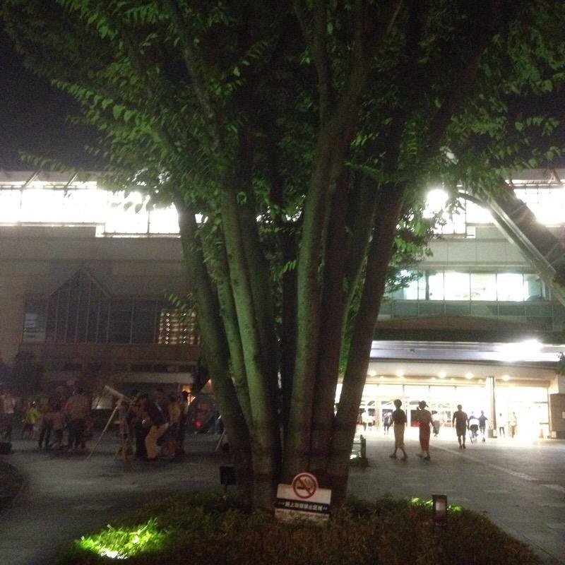 岐阜駅 南口(加納口)岐阜市科学館 駅前天体観望会(ぎふスターウォッチング)