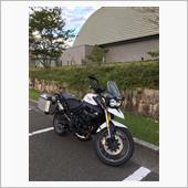 """""""トライアンフ Tiger800 (タイガー)""""の愛車アルバム"""