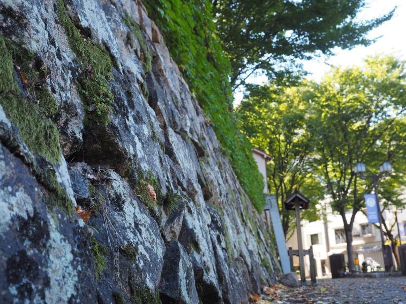 城下 岡山城二の丸(西の丸)跡