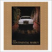 1979年 コンチネンタル・マークV カタログ