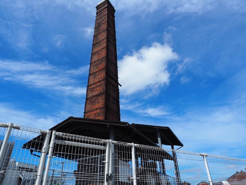 金屋町 旧南部鋳造所 キューボラと煙突