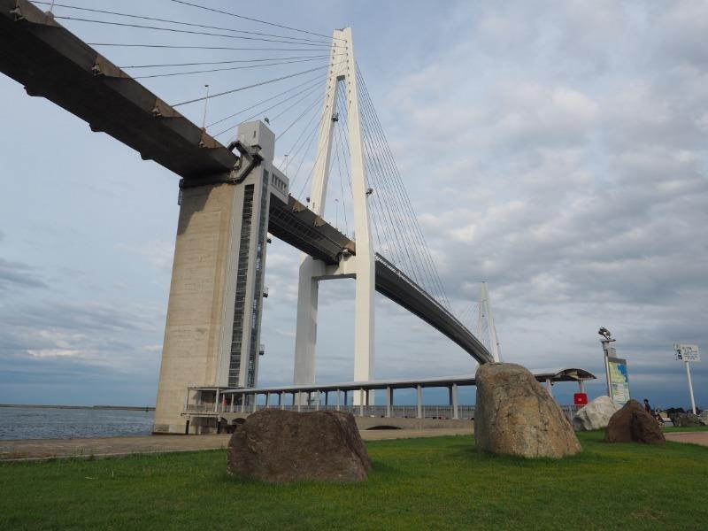 越ノ潟電停 新湊大橋(3)