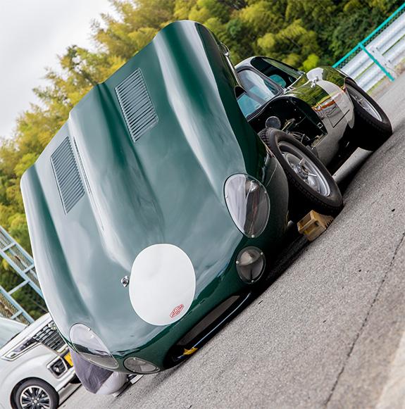 Jaguar E Type MLS モーターランド鈴鹿