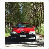 My1992 Alfa Romeo 164 Quadrifoglio in Kahokugata🍀