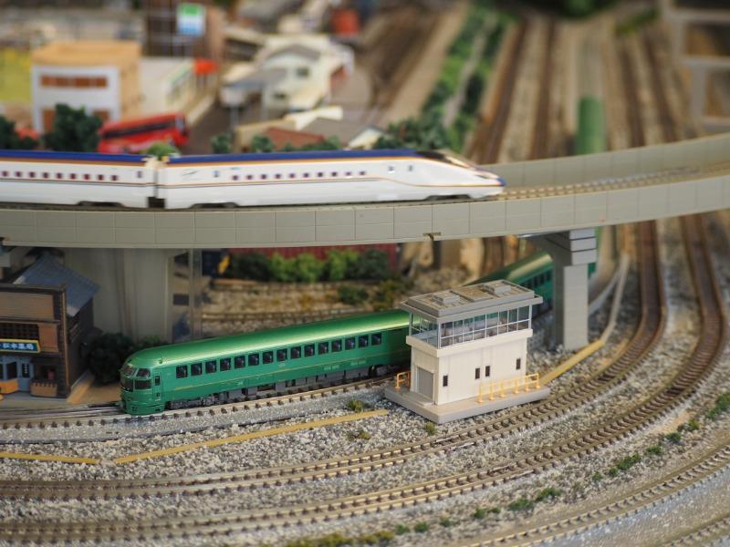 鉄道カフェはるか ゆふいんの森+W7(3)