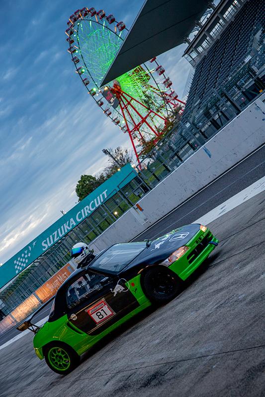 烈ビート Honda Beat ホンダ・ビート PP1 鈴鹿サーキット Suzuka International Circuit