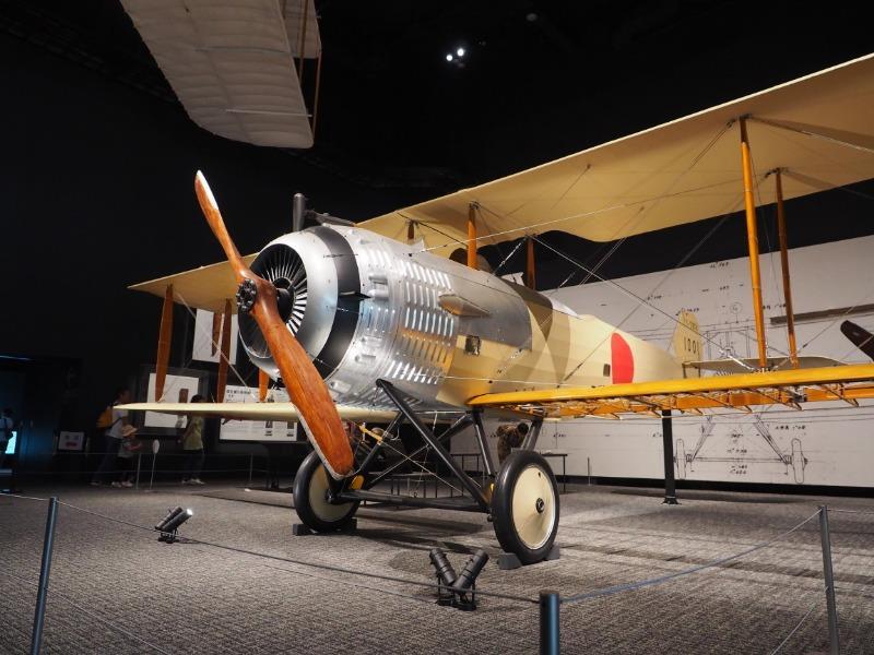かかみがはら航空宇宙博物館 陸軍 乙式一型偵察機(サルムソン2A2)