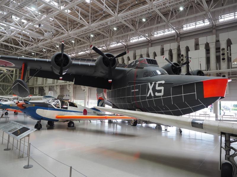 かかみがはら航空宇宙博物館 防衛庁技術研究本部/新明和工業 UF-XS 実験飛行艇