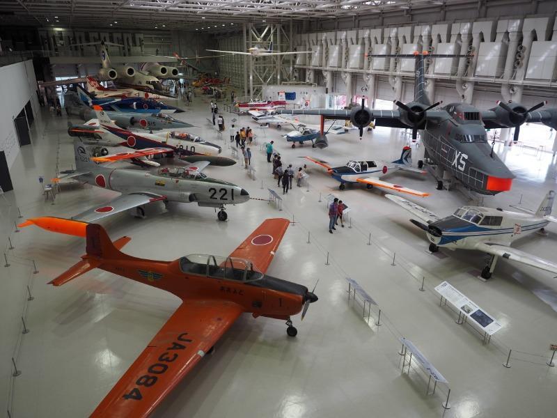 かかみがはら航空宇宙博物館 航空エリア(全体)