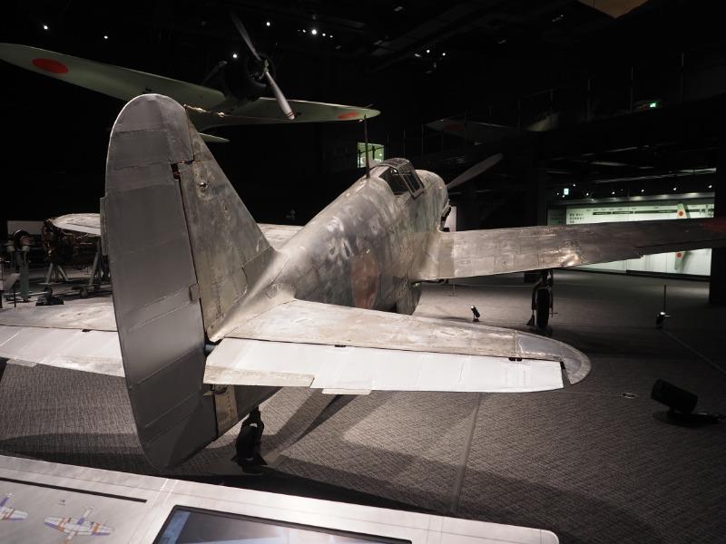 かかみがはら航空宇宙博物館 陸軍 三式戦闘機二型「飛燕」(尾翼)