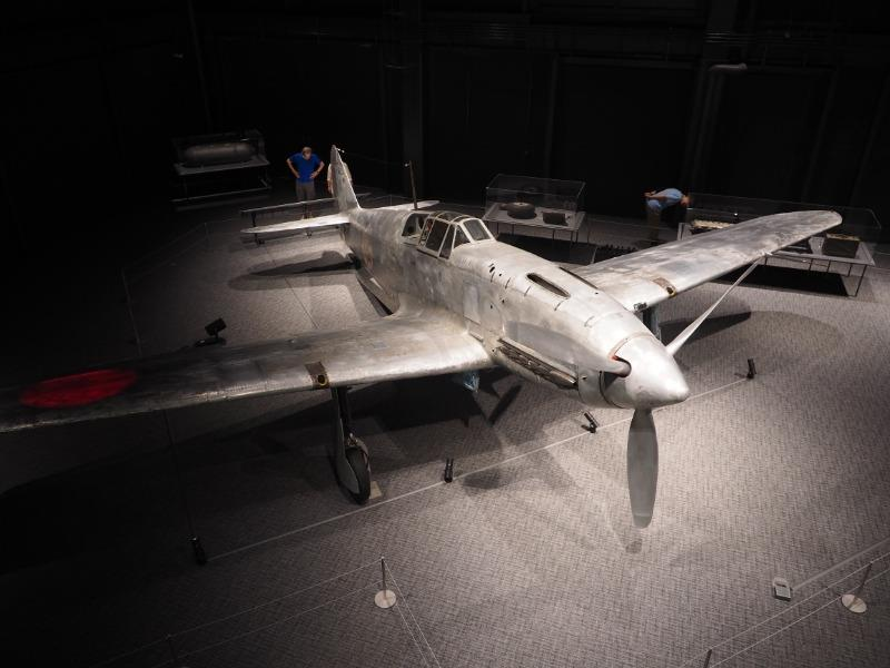 かかみがはら航空宇宙博物館 陸軍 三式戦闘機二型「飛燕」(全体)