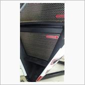MOTO CORSE チタニウム プロテクションスクリーン オイルクーラー for MV AGUST