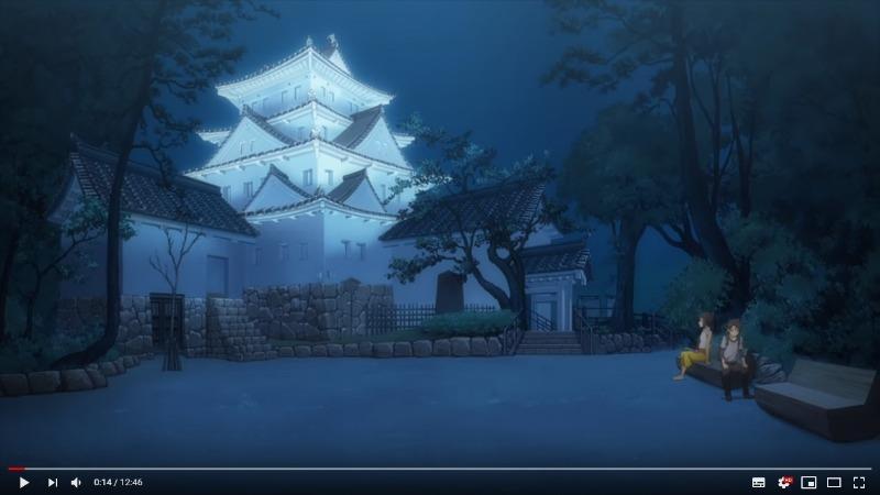大垣市制100周年動画「いつか会えるキミに」大垣城