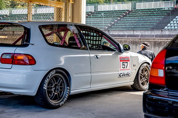 Central Circuit セントラルサーキット come 1 day race Honda ホンダ ONE RANK UP AUTO EG6 ワンランクアップオート シビック