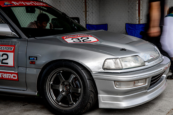 CAR SHOP PANTHER EF9 Honda CIVIC SiR Central Circuit セントラルサーキット come 1 day race カーショップ パンサー ホンダ シビック