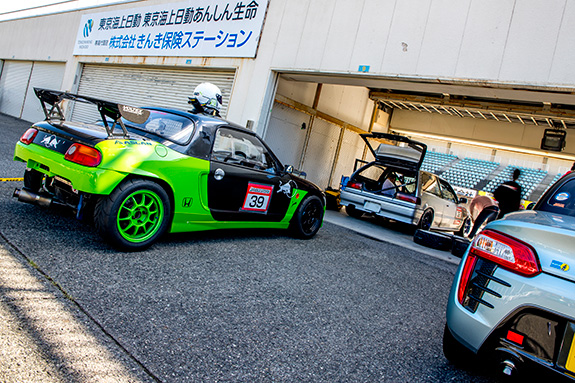 Central Circuit セントラルサーキット come 1 day race ダイハツ コペン ローブ Daihatsu copen robe Honda Beat ホンダ ビート PP1