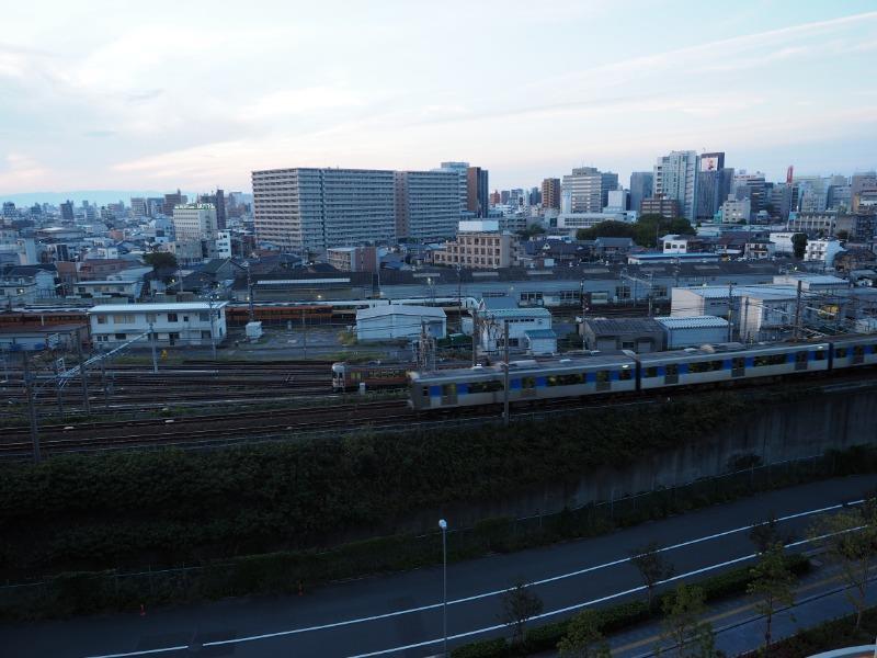 ささしまライブ グローバルゲート 屋上庭園 近鉄 ビスタカー&アーバンライナーplus、JR 313系、あおなみ線