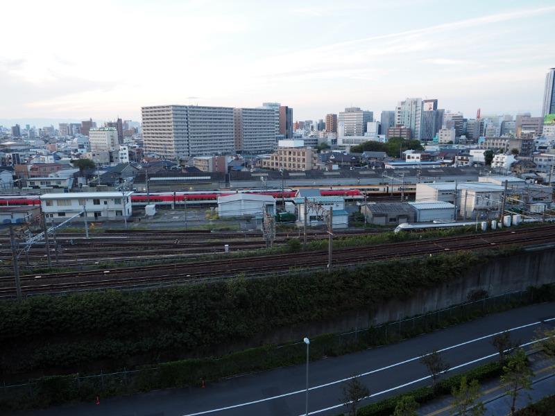 ささしまライブ グローバルゲート 屋上庭園 近鉄 伊勢志摩ライナー、JR キハ85系