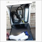 自作 充電ケーブルケースの画像