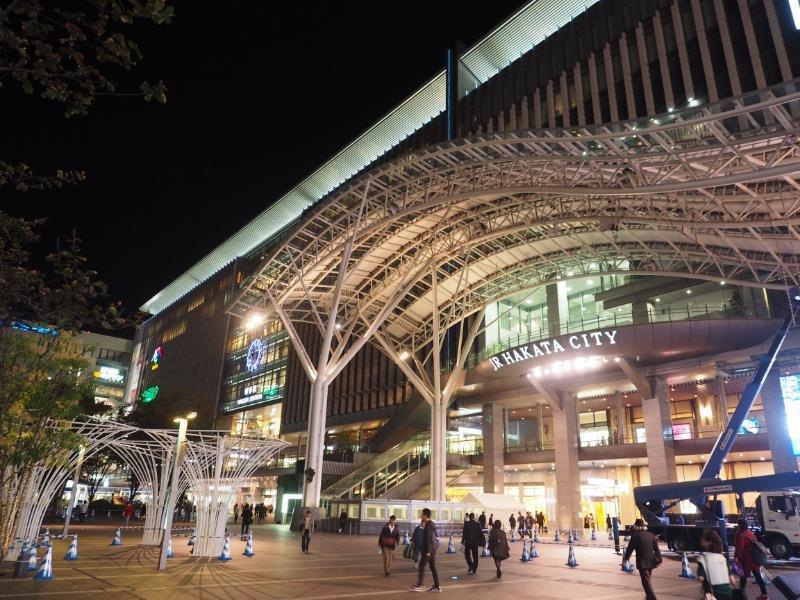 博多駅 夜景