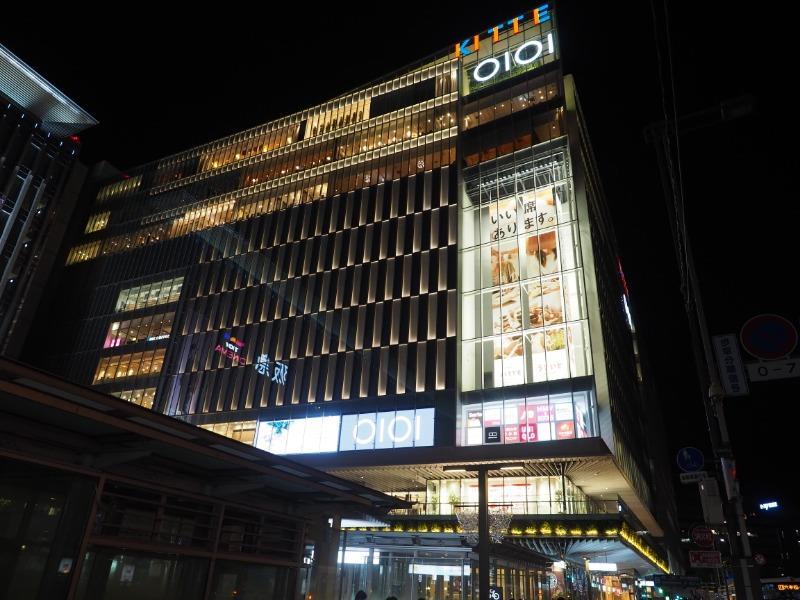 博多駅 夜景(博多マルイ)