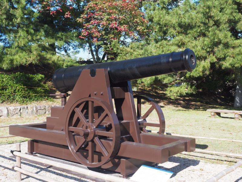 佐賀城本丸歴史館 24ポンドカノン砲
