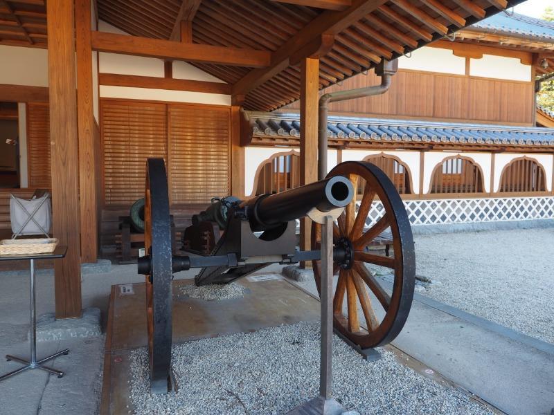 佐賀城本丸歴史館 アームストロング砲