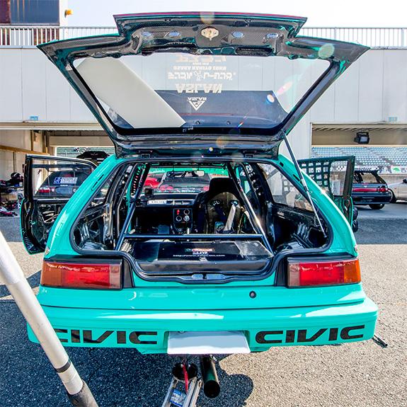 セントラルサーキット ASLAN Honda one make race シビック Civic EK9