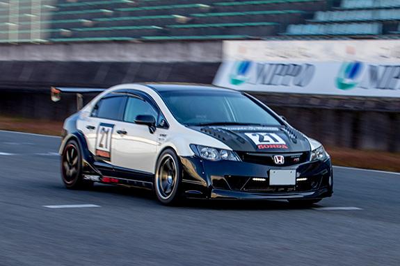 セントラルサーキット ASLAN Honda one make race Honda FD2 Civic ASLAN シビック