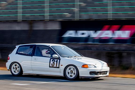 セントラルサーキット ASLAN Honda one make race MOZ☆リミテR☆N1部隊 EG6 Honda CIVIC シビック