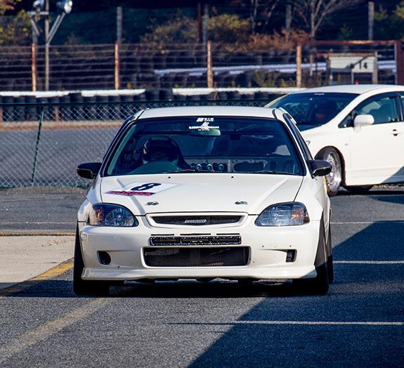 セントラルサーキット ASLAN Honda one make race OAKS POWER Honda EK9 CIVIC シビック