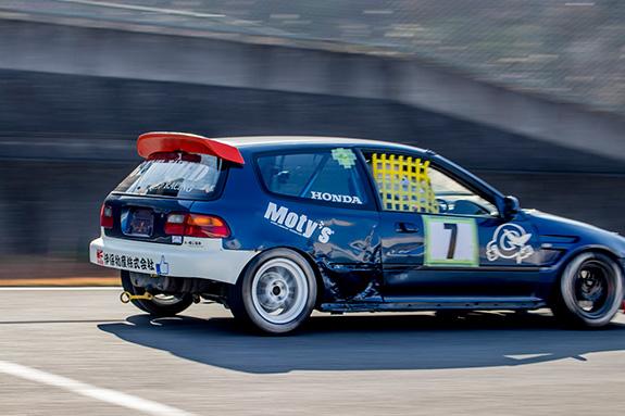 Central Circuit セントラルサーキットASLAN Honda One Make race GET WILD Honda EG4 CIVIC ホンダ シビック
