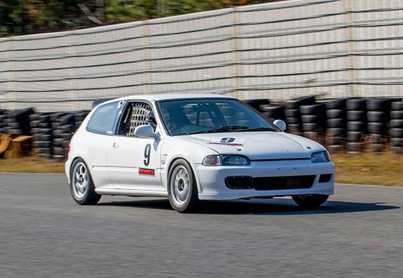 Central Circuit セントラルサーキットASLAN Honda One Make race Honda EG6 CIVIC ホンダ シビック OAKS POWER オークスパワー