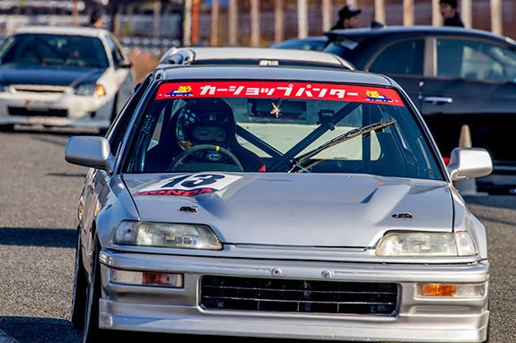 Central Circuit セントラル サーキット CAR SHOP PANTHER Honda EF9 CIVIC SiR ホンダ シビック