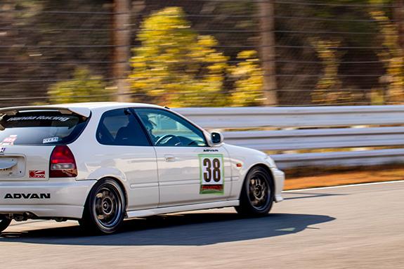 Central Circuit セントラル サーキット CAR SHOP PANTHER Honda EK9 CIVIC ホンダ シビック